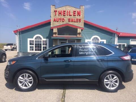 2016 Ford Edge for sale at THEILEN AUTO SALES in Clear Lake IA