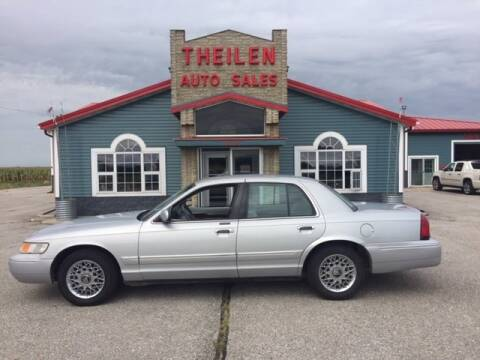 1998 Mercury Grand Marquis for sale at THEILEN AUTO SALES in Clear Lake IA