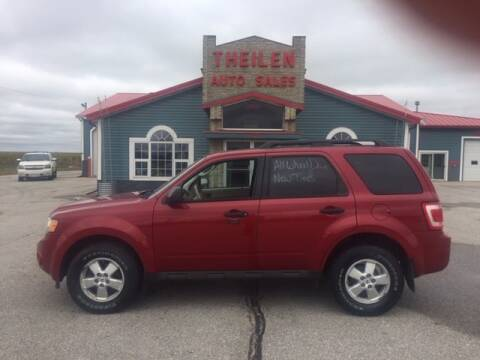 2010 Ford Escape for sale at THEILEN AUTO SALES in Clear Lake IA