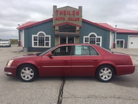 2007 Cadillac DTS for sale at THEILEN AUTO SALES in Clear Lake IA