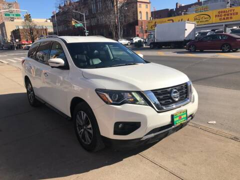 2017 Nissan Pathfinder for sale at Sylhet Motors in Jamacia NY