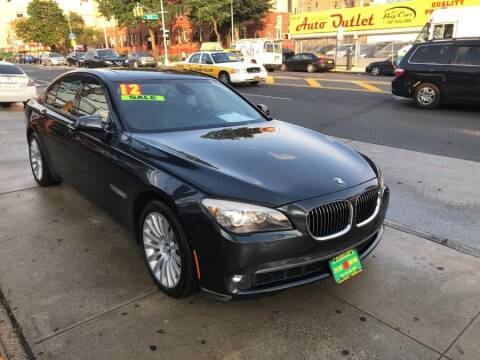 2012 BMW 7 Series for sale at Sylhet Motors in Jamacia NY