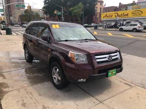 2008 Honda Pilot for sale at Sylhet Motors in Jamacia NY