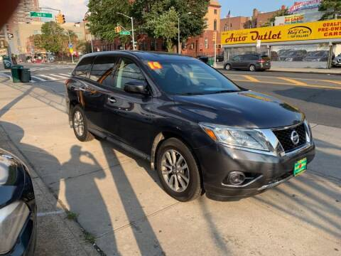 2014 Nissan Pathfinder for sale at Sylhet Motors in Jamacia NY