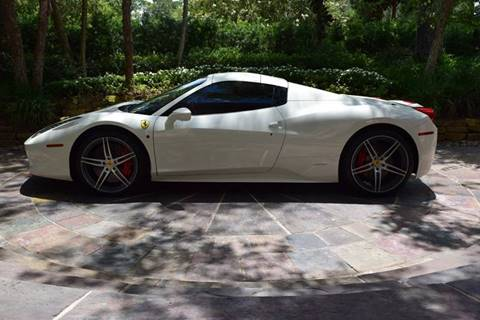 2015 Ferrari 458 Spider for sale at MyAutoConnectionUSA.com in Houston TX