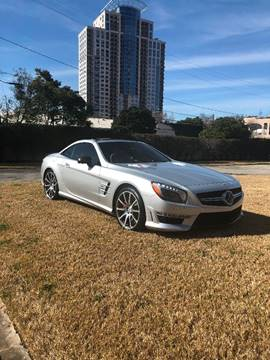 2013 Mercedes-Benz SL-Class for sale at MyAutoConnectionUSA.com in Houston TX