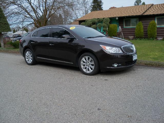 2013 BUICK LACROSSE LEATHER 4DR SEDAN brown 2013 buick lacrosse 24l at dual power heated leat