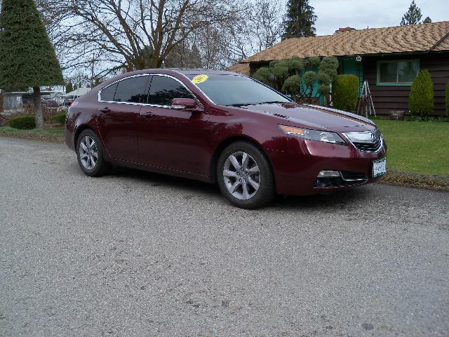 2013 ACURA TL BASE 4DR SEDAN maroon 2013 acura tl low 1-owner miles 35l v6