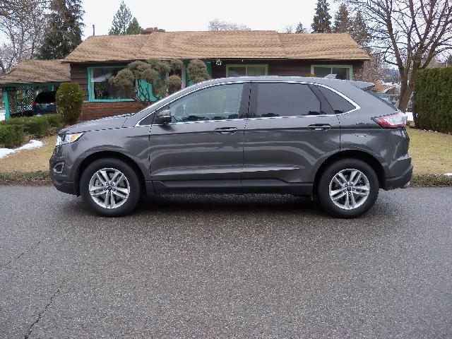 2016 FORD EDGE SEL AWD 4DR SUV charcoal 2016 ford edge sel awd 35l v6 at dual power heated se
