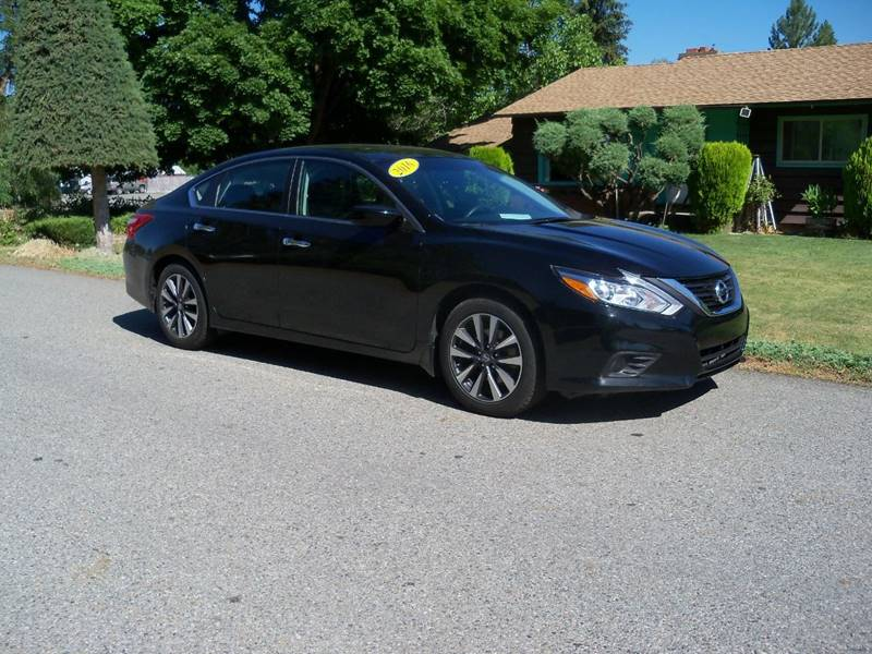 2016 NISSAN ALTIMA 25 SV 4DR SEDAN black 2016 nissan altima sv 25l l4 at