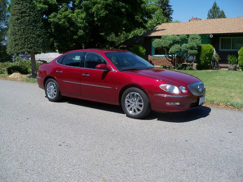 2009 BUICK LACROSSEALLURE CXL maroon smooth ride cxl 3800 v6 moonroof le