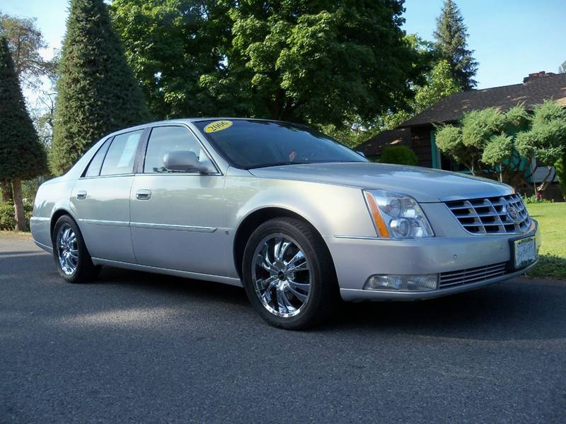 2006 CADILLAC DTS PERFORMANCE 4DR SEDAN glacier gold pearl dts performance 4