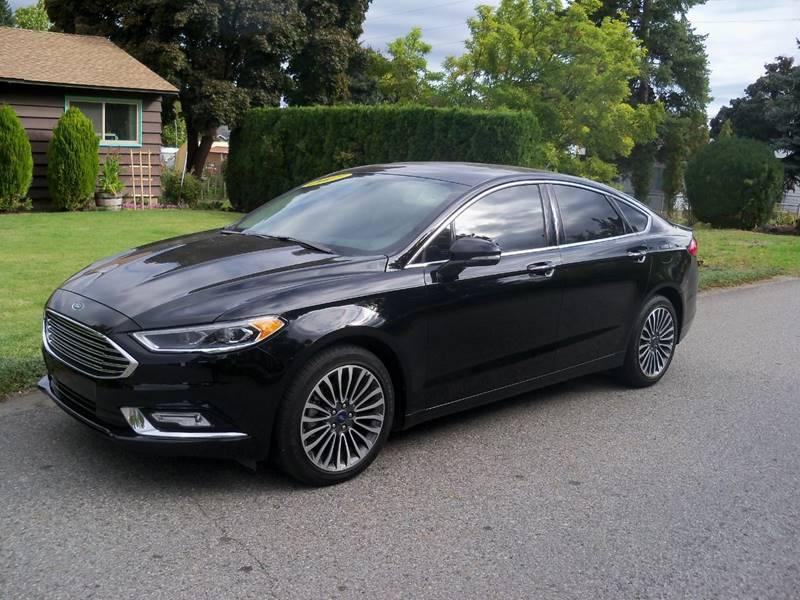 2017 FORD FUSION SE AWD 4DR SEDAN black se awd 20 l ecoboost turbocharged
