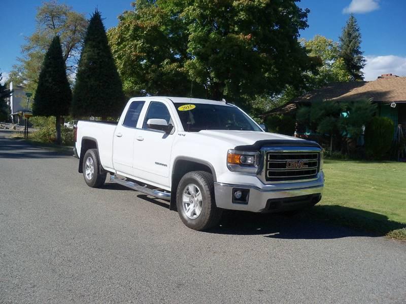 2015 GMC SIERRA 1500 SLE 4X4 4DR DOUBLE CAB 65 FT S white sle 53l electro