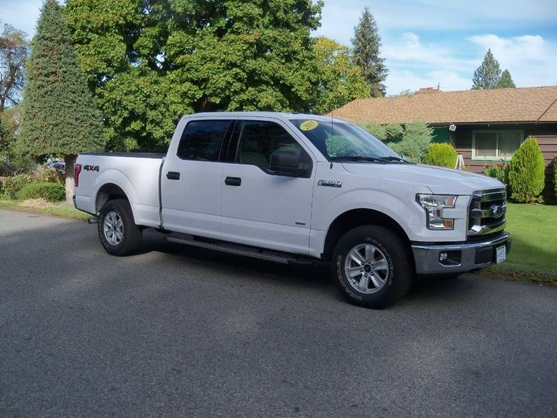 2015 FORD F-150 XLT 4X4 4DR SUPERCREW 65 FT SB white xlt 35l twin turbo ch