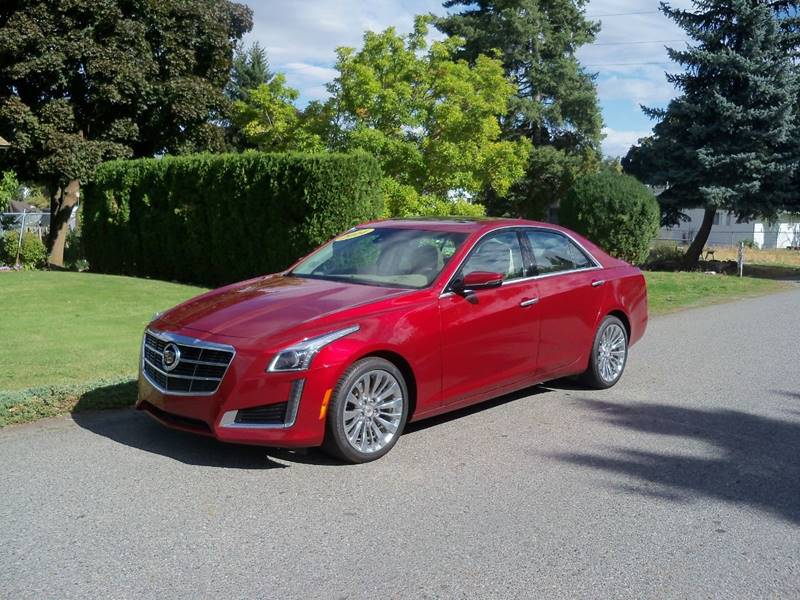 2014 CADILLAC CTS 20T LUXURY COLLECTION AWD 4DR S maroon cts 4 20t driver