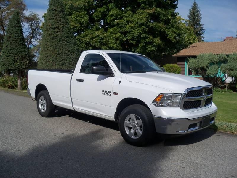 2014 RAM RAM PICKUP 1500 TRADESMAN 4X4 2DR REGULAR CAB 8 white tradesman 57