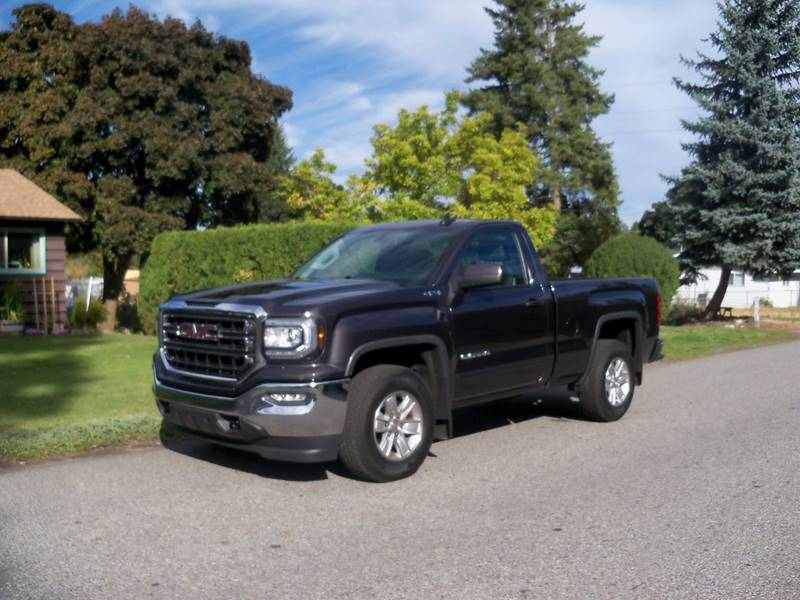 2016 GMC SIERRA 1500 SLE 4X4 2DR REGULAR CAB 65 FT gray more pictures comin