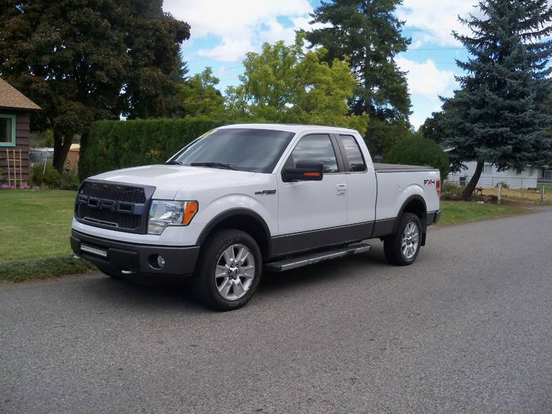 2010 FORD F-150 FX4 4X4 4DR SUPERCAB STYLESIDE 6 white fx4-off road 54l 3v