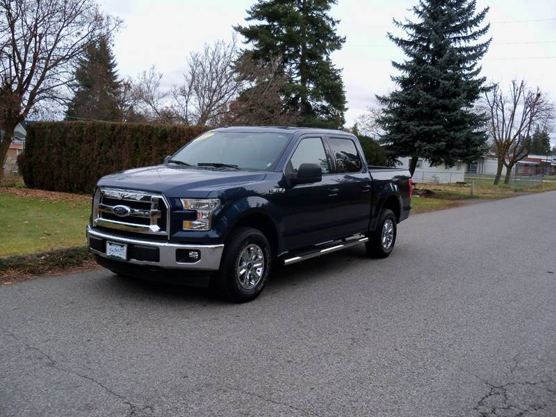 2017 FORD F-150 XLT 4X4 4DR SUPERCREW 55 FT SB blue xlt 35l ti-vct v6 au