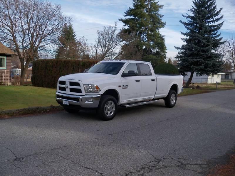 2016 RAM RAM PICKUP 2500 OUTDOORSMAN 4X4 4DR CREW CAB 8 F white outdoorsman r