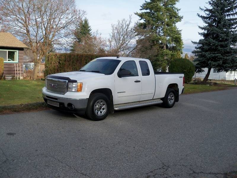 2012 GMC SIERRA 1500 SLE 4X4 4DR EXTENDED CAB 65 FT white pictures coming s