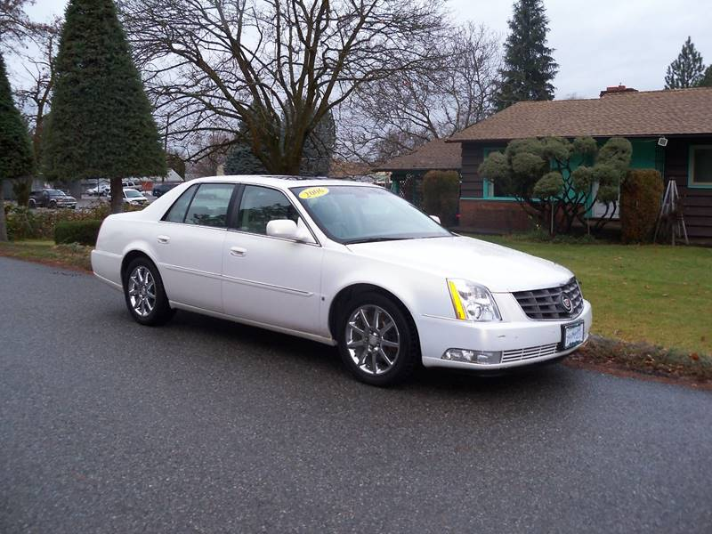 2006 CADILLAC DTS PERFORMANCE 4DR SEDAN white lightning dts performance 46