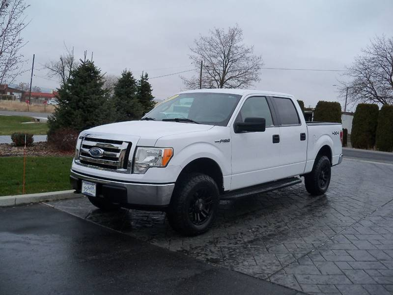 2009 FORD F-150 XLT 4X4 4DR SUPERCREW STYLESIDE