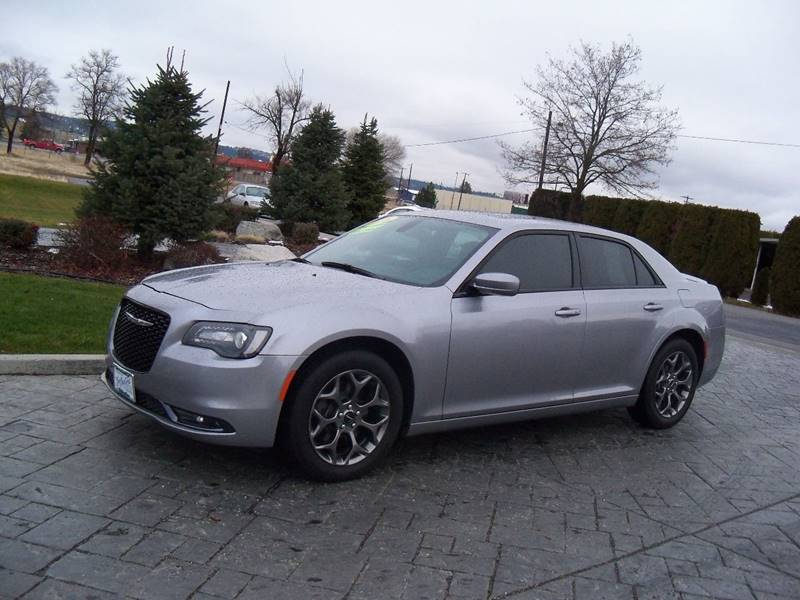 2016 CHRYSLER 300 S AWD 4DR SEDAN spiral silver 300 s awd 36l 300 horsepow