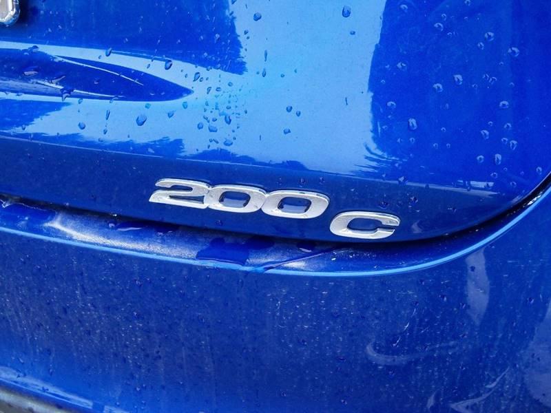 2015 CHRYSLER 200 C AWD 4DR SEDAN