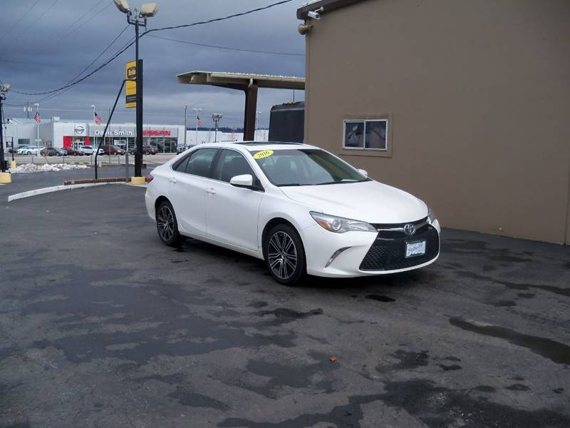 2016 TOYOTA CAMRY SPECIAL EDITION 4DR SEDAN white more photos coming soon