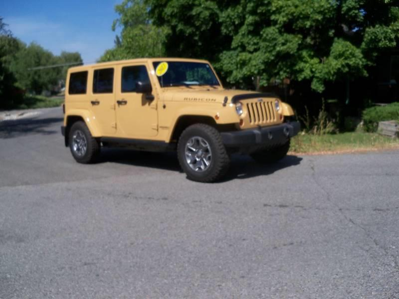 2013 JEEP WRANGLER UNLIMITED RUBICON 4X4 4DR SUV