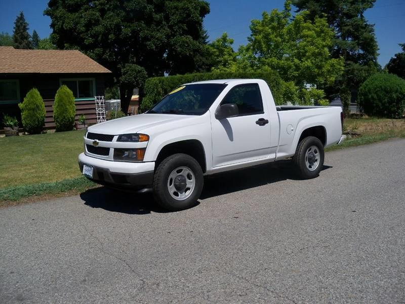 2012 CHEVROLET COLORADO WORK TRUCK 4X4 2DR REGULAR CAB white fabulous  2012 chevy colorado reg c