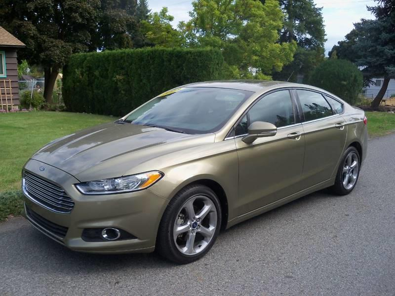 2013 FORD FUSION SE 4DR SEDAN ginger ale low low miles on this se 20l turbo charged ecoboost