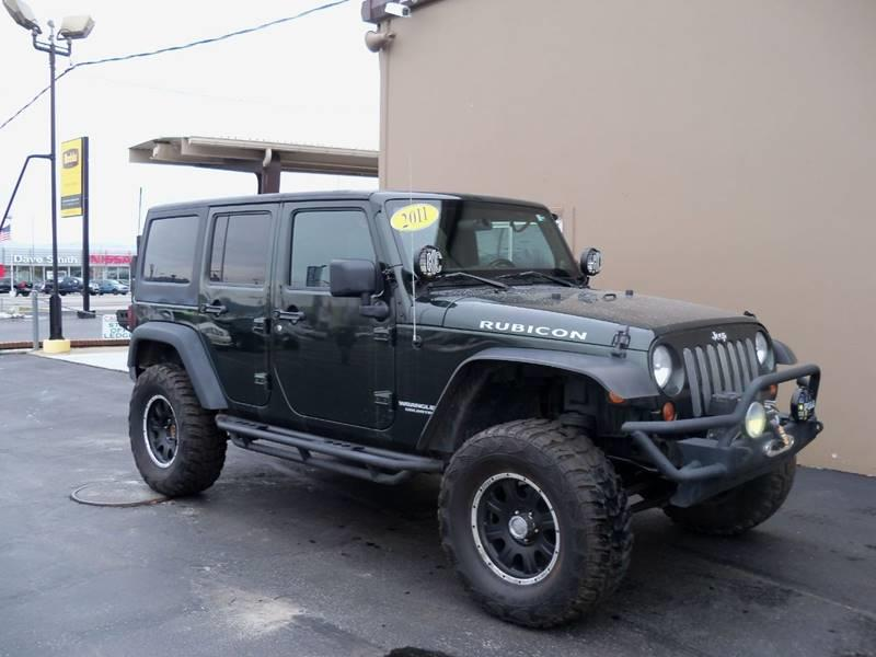 2011 JEEP WRANGLER UNLIMITED RUBICON 4X4 4DR SUV dark green unlimitedrubicon 38l v6 air raid