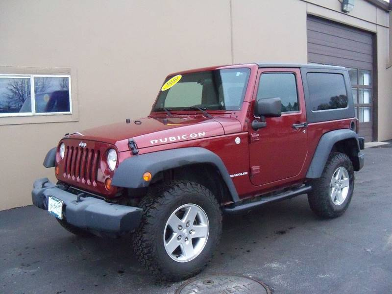 2010 JEEP WRANGLER RUBICON 4X4 2DR SUV burgundy more pictures coming soon rubicon 38l v6 au