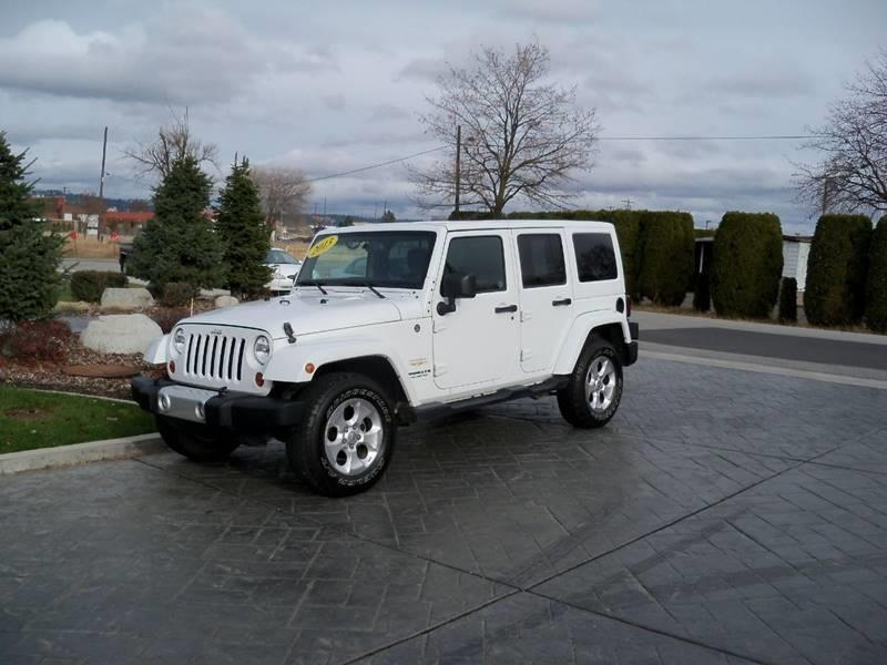 2013 JEEP WRANGLER UNLIMITED SAHARA 4X4 4DR SUV white saharaunlimited 36l