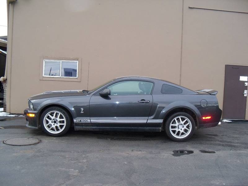 2008 FORD SHELBY GT500 BASE 2DR COUPE