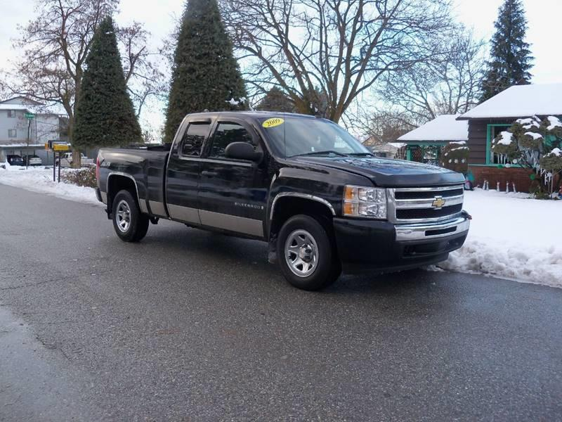 2009 CHEVROLET SILVERADO 1500 WORK TRUCK 4X4 4DR EXTENDED CAB