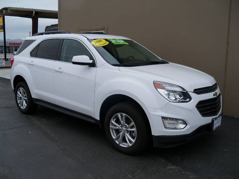 2016 CHEVROLET EQUINOX LT AWD 4DR SUV white one ownertradein lt awd 36l sidi vvt 6spd autom
