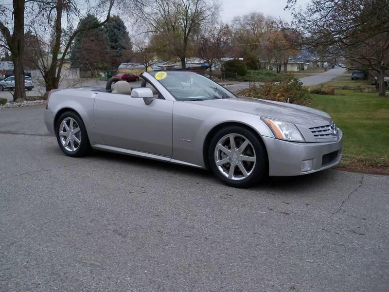 2006 CADILLAC XLR BASE 2DR CONVERTIBLE light platinum xlr roadster 46l nort