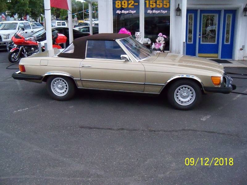 1974 MERCEDES-BENZ 450 SL SL gold 450 sl roadster hardtopconvertible automatic transmission ai