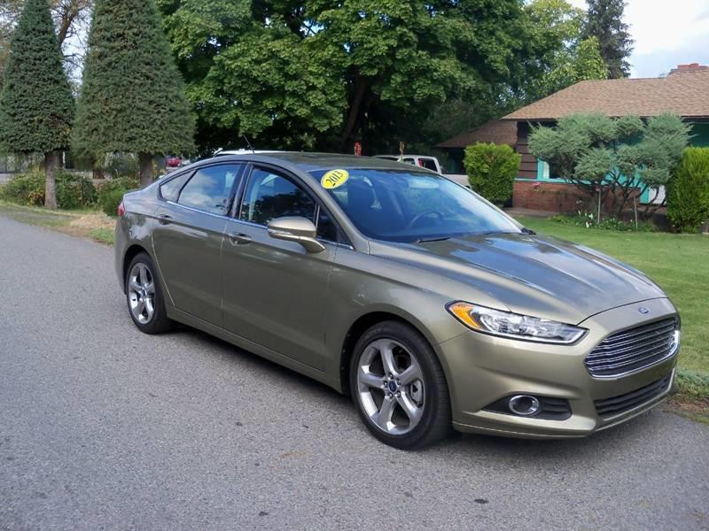 2013 Ford Fusion SE 4dr Sedan In Spokane Valley WA - Big Boys Toys ...