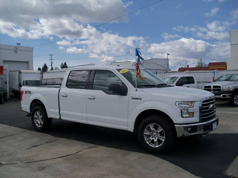 2016 FORD F-150 XLT 4X4 4DR SUPERCREW 65 FT SB oxford white low miles 50 l