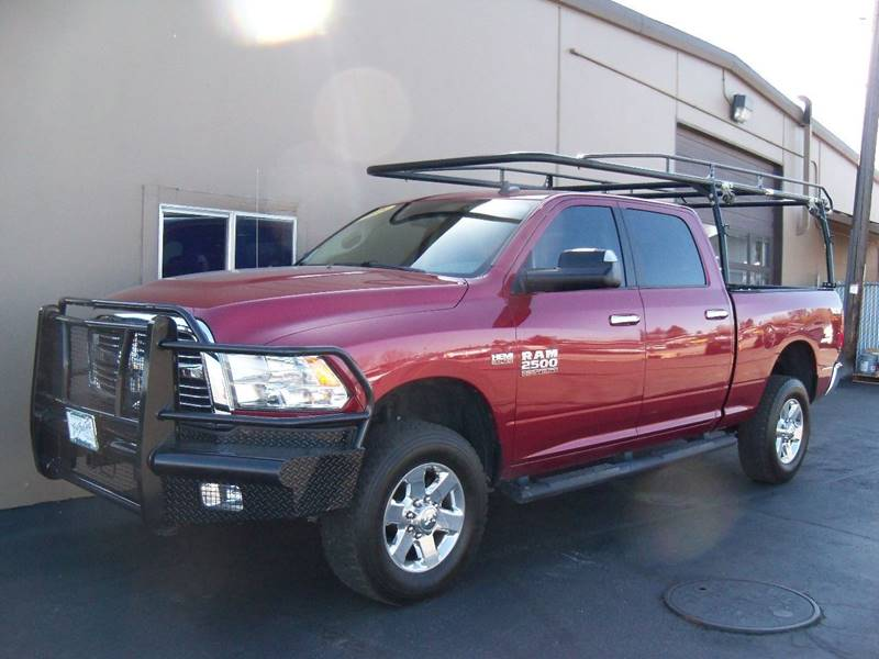 2015 RAM RAM PICKUP 2500 BIG HORN 4X4 4DR CREW CAB 63 FT deep cherry red crystal pearl local spok
