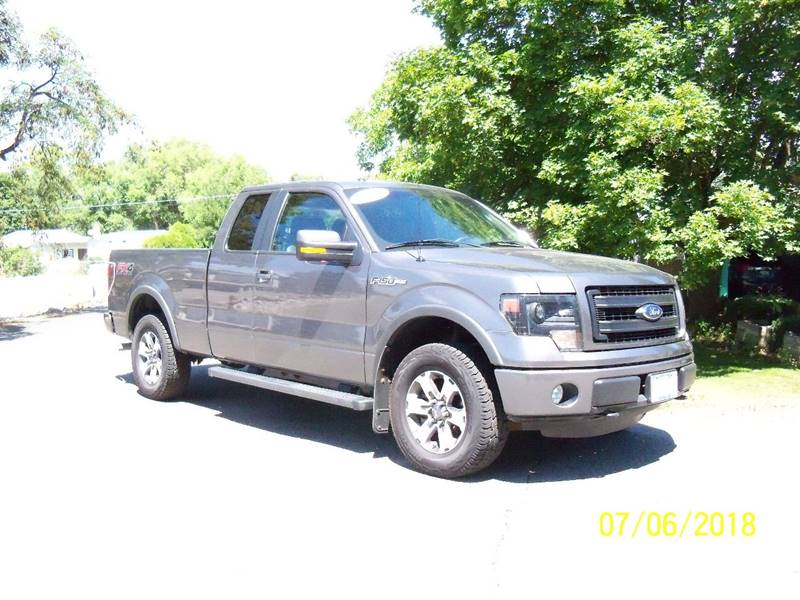 2014 FORD F-150 FX4 4X4 4DR SUPERCAB STYLESIDE 6 gray additional photos coming soon fx4 off road