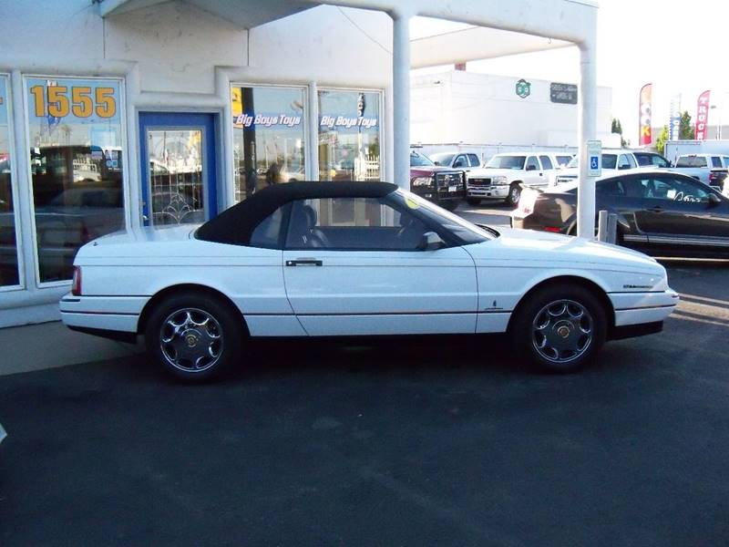1993 CADILLAC ALLANTE BASE 2DR CONVERTIBLE opaque white this local 1-owner non smoker automobil