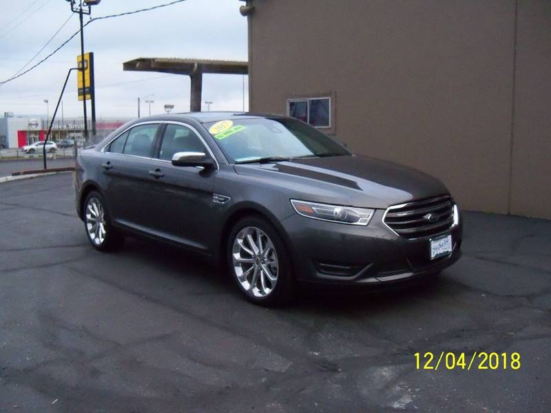 2017 FORD TAURUS LIMITED AWD 4DR SEDAN charcoal loaded  remote starter 2 fobs keyless entry