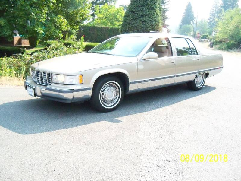 1996 CADILLAC FLEETWOOD BASE 4DR SEDAN light driftwood metallic this is a real local  1-owner wa