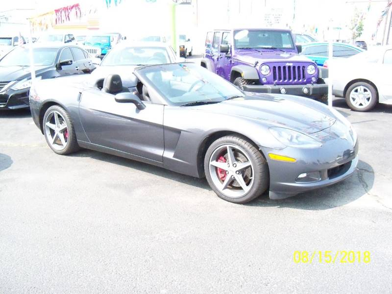 2013 CHEVROLET CORVETTE BASE 2DR CONVERTIBLE W4LT charcoal 60 th anniversary edition 3lt package